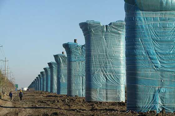 Concrete construction in winter with protection.jpg